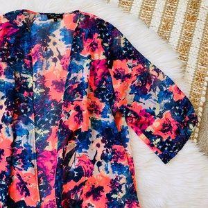 ASOS bright floral kimono
